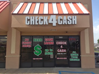 Check 4 Cash -Southaven Payday Loans Picture