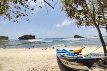 Watu Karung Beach, Pacitan, Indonesia