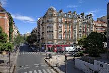 Square Charles Peguy, Paris, France