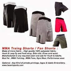 Lasani Mfg Trd Co. Boxing, Martial Arts, Fitness Gear Clothing Protections. Sialkot