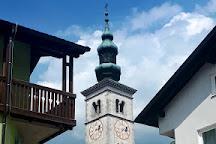 St Mary of the Assumption church, Kobarid, Slovenia