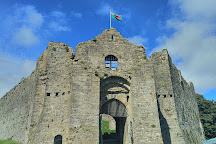 Oystermouth Castle, Swansea, United Kingdom