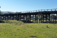 The Prince Alfred Bridge, Gundagai, Australia