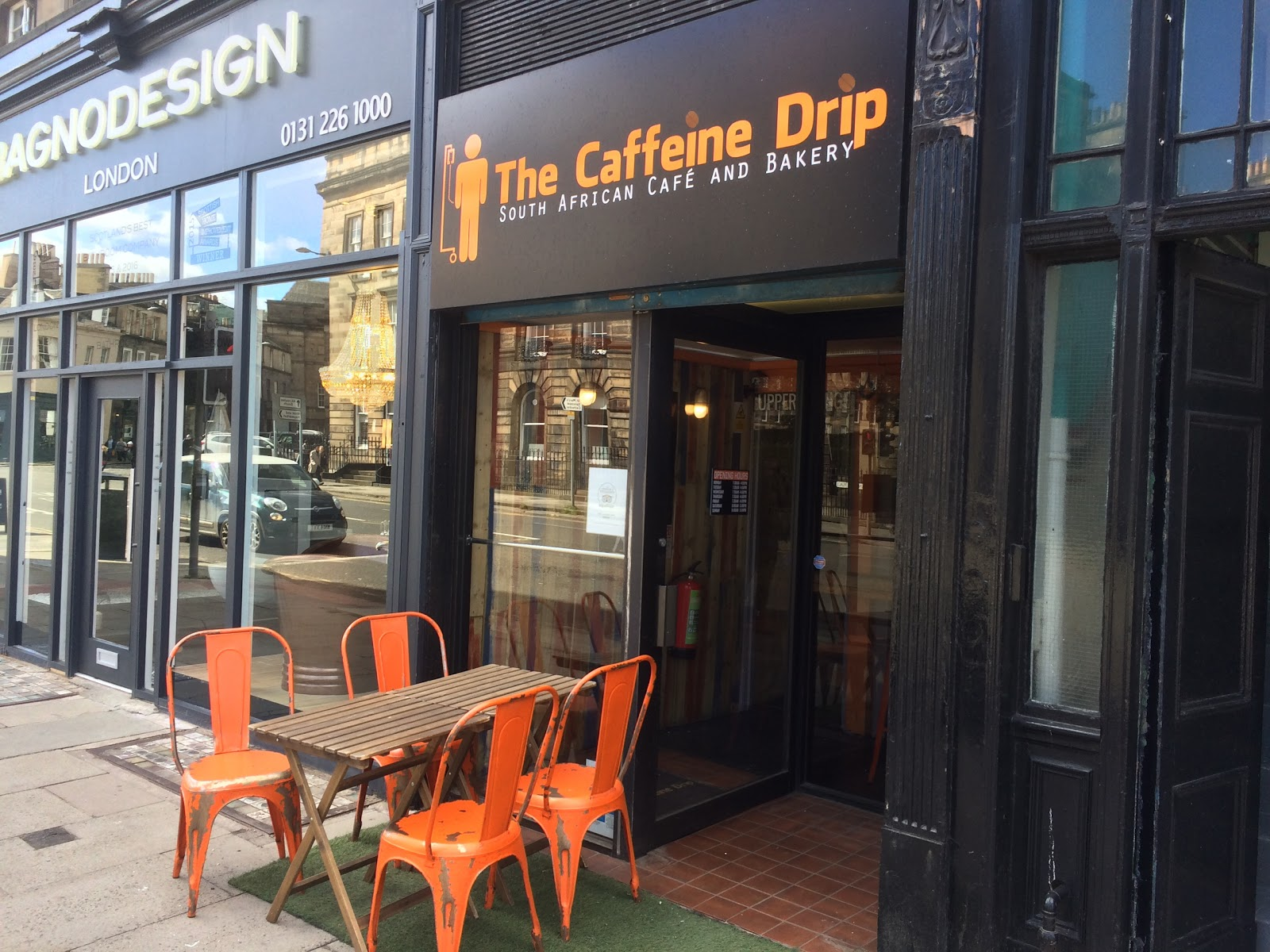 The Caffeine Drip: A Work-Friendly Place in Edinburgh
