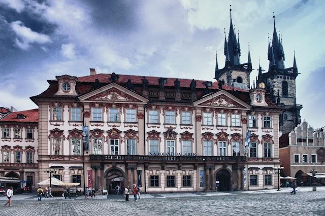 National Gallery in Prague - Kinský Palace