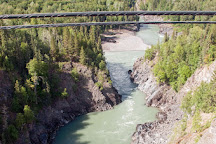 Hagwilget Canyon Bridge, New Hazelton, Canada