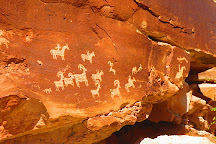 Wolfe Ranch Rock Art, Arches National Park, United States