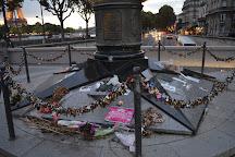 Flamme de la Liberte, Paris, France