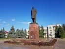 Памятник В. И. Ленину на фото Моршанска