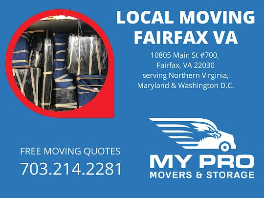 MyProMovers | Fairfax Movers 10805 Main St #700, Fairfax, VA 22030 703-214-2281