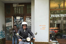 Vespa-Verleih, Berlin, Germany
