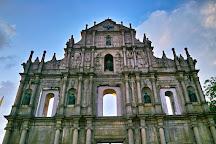 Ruins of St. Paul's, Macau, China