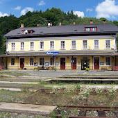 Железнодорожная станция  Becov