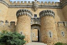 Castillo de los Mendoza (Castillo nuevo de Manzanares El Real), Manzanares el Real, Spain