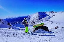 The Remarkables Ski Area, Queenstown, New Zealand