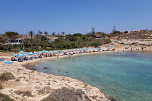 Spiagga Cala Francese, Lampedusa, Italy
