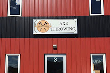 Wood Shed Axe Throwing, Sylvan Lake, Canada