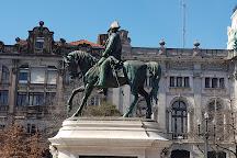 Estátua Equestre de Dom Pedro IV, Porto, Portugal