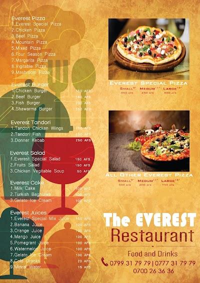 Everest Pizza Restaurant