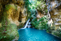 Bassin Bleu, Gourbeyre, Guadeloupe