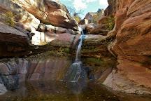 Lower Pine Creek Waterfall, Springdale, United States