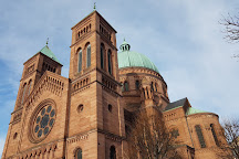 Catholic Church Saint-Pierre-le-Jeune, Strasbourg, France