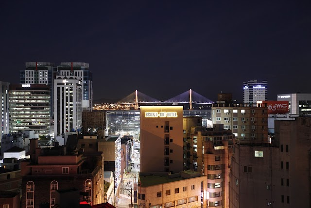 Brown-Dot Hotel Business Busan Station