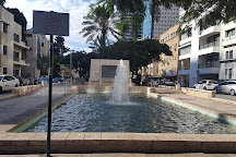 Founders Monument and Fountain, Tel Aviv, Israel
