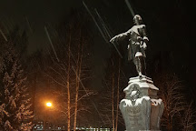 Monument to Peter the Great, Petrozavodsk, Russia