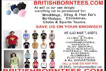 British Born Tees, Enfield, United Kingdom
