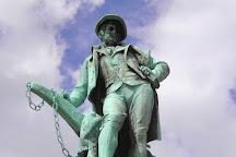 Robert Burns Statue, Glasgow, United Kingdom