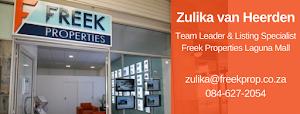 Zulika van Heerden @ Freek Properties - Estate Agents in Langebaan