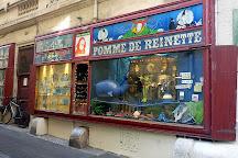 Pomme de Reinette et Pomme d'Api, Montpellier, France