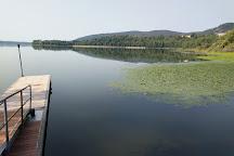 Pista Ciclopedonale del lago di Comabbio, Varese, Italy