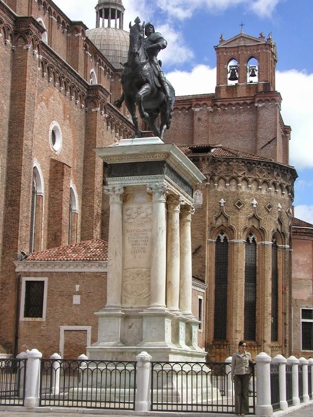 Equestrian Statue of Bartolomeo Colleoni