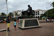 Monumento a Miguel de Cervantes, Cartagena, Colombia