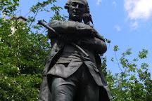 Statue de Beaumarchais, Paris, France