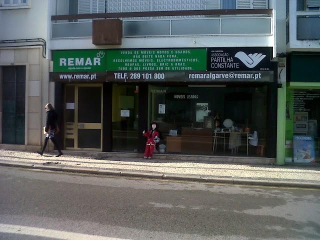 Loja Solidária Remar - Partilha Constante Faro