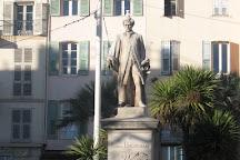 Statue de Lord Brougham, Cannes, France