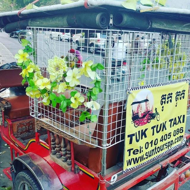 tuktuk tour phnompenh