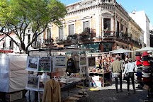 Plaza Dorrego, Buenos Aires, Argentina