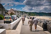 La Grande Plage des Rosaires, Plerin, France