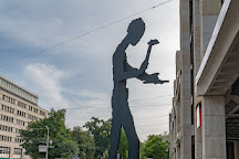 Hammering Man, Basel, Switzerland