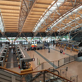 Аэропорт  станции  Hamburg Airport