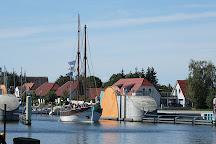 Sperrwerk, Greifswald, Germany