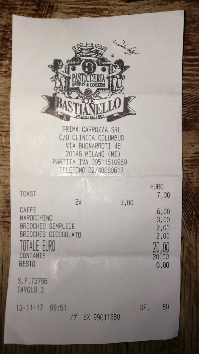 Bastianello Pasticceria Bar