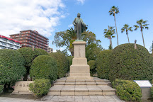 Okubo Toshimichi Statue, Kagoshima, Japan
