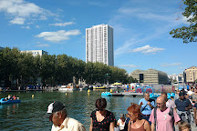 Bassin de la Villette, Paris, France