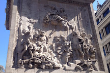 The Monument to the Great Fire of London, London, United Kingdom