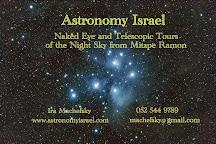 Astronomy Israel, Mitspe Ramon, Israel